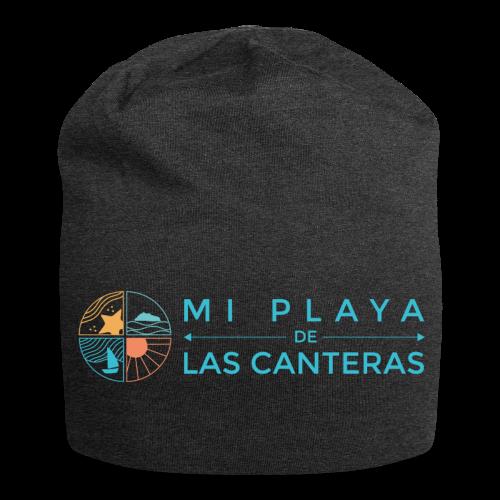 Mi playa de Las Canteras - Gorro holgado de tela de jersey
