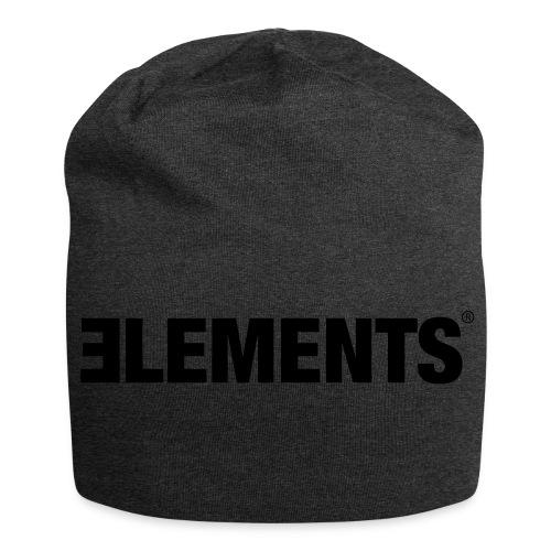 Schriftzug Elements - Jersey-Beanie