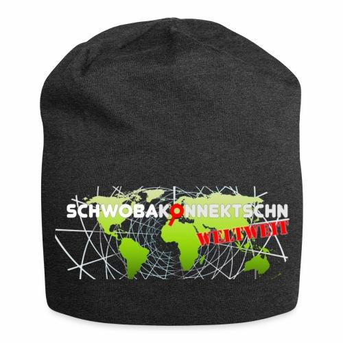 Schwobakonnektschn Logo (transparent) - Jersey-Beanie