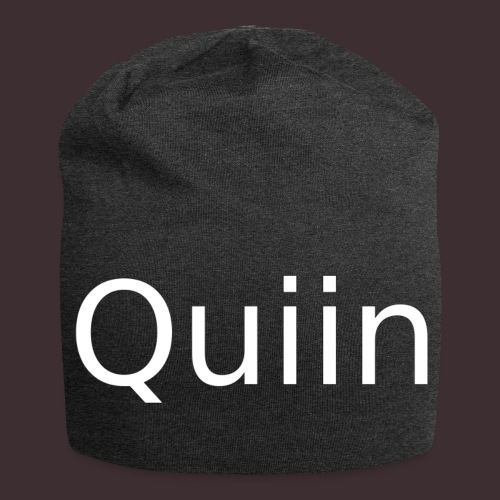 White_Quiin_outline - Jersey-Beanie