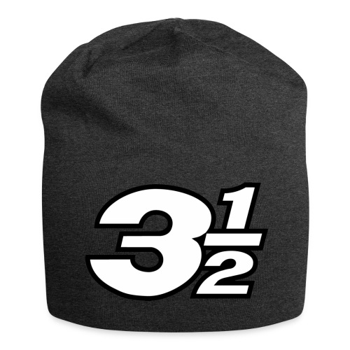 Three and a Half Logo - Jersey Beanie