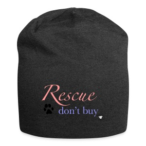 Rescue don't buy - Jersey Beanie