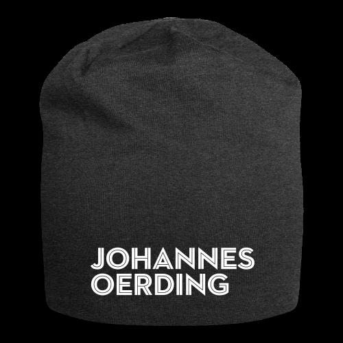 Johannes Oerding Schriftzug - Jersey-Beanie