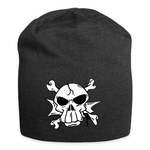 Skull - Beanie in jersey