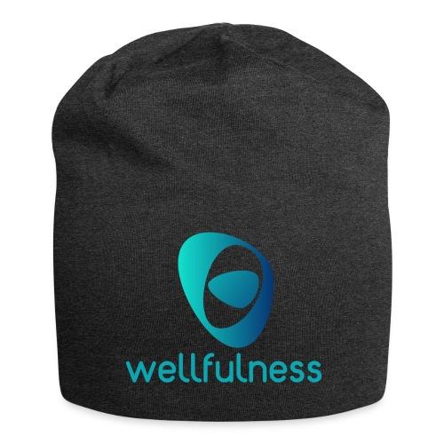 Wellfulness Original - Gorro holgado de tela de jersey