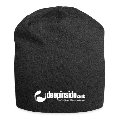 DEEPINSIDE World Reference logo white - Jersey Beanie