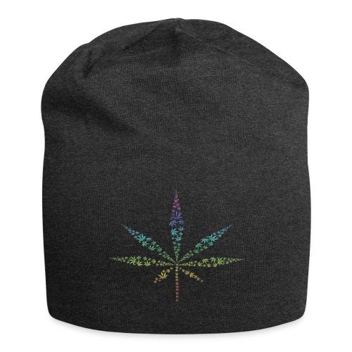 feuille de weed - Bonnet en jersey