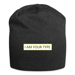 I AM YOUR TYPE - Gorro holgado de tela de jersey