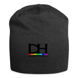 DH Health&Fitness Black Logo - Jersey Beanie