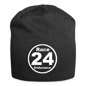 Race24 round logo white - Jersey Beanie