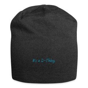 DTWear - It`s a D-Thing - Blue / Blauw - Jersey-Beanie
