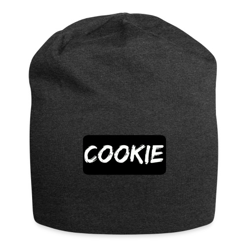 Negro de la galleta - Gorro holgado de tela de jersey