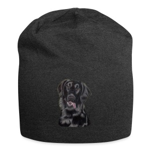 flatcoated retriever p - Jersey-Beanie