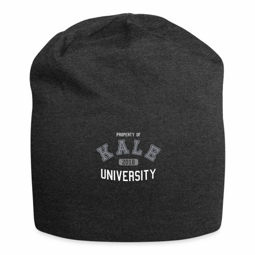 Kale University - Grünkohl Universität - Veganer - Jersey-Beanie