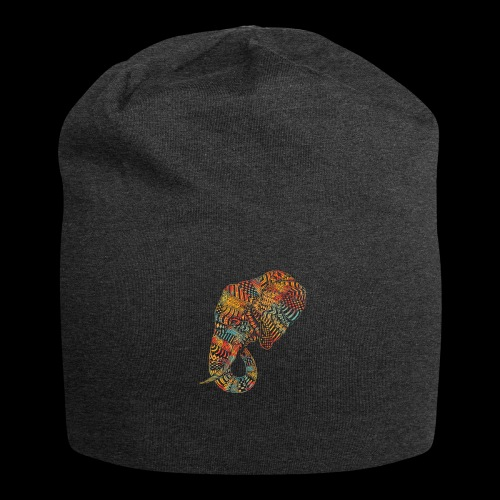 elefante colors - Gorro holgado de tela de jersey