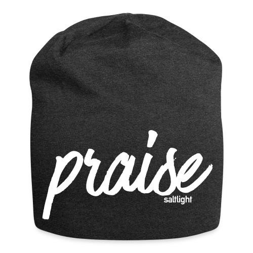 Praise (WHITE) - Jersey Beanie