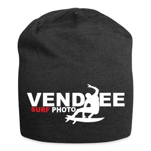 VS Logo Surfer blanc - Bonnet en jersey