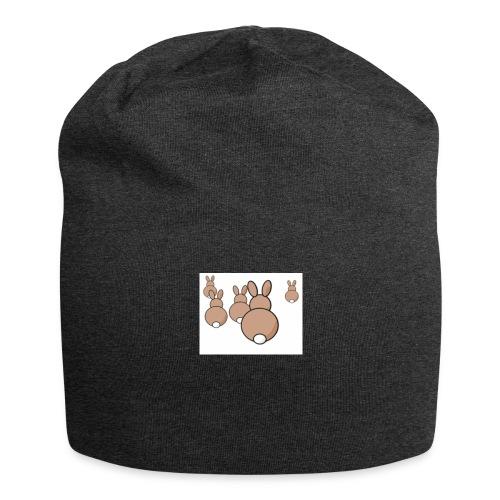 Kaninchen - Jersey-Beanie