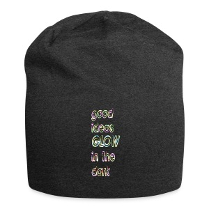 good ideas GLOW in the dark - Gorro holgado de tela de jersey