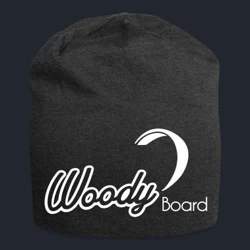 Logo Woodyboard Blanc - Bonnet en jersey