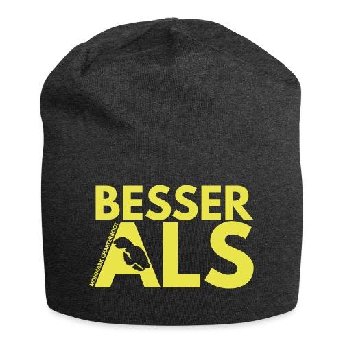 BesserAls - Jersey-Beanie