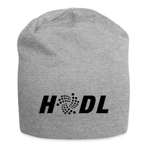 Crypto HODL - IOTA homage - Jersey-Beanie