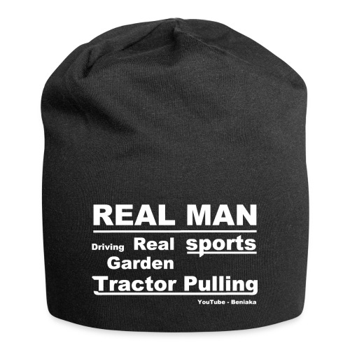 Real man - Jersey-Beanie