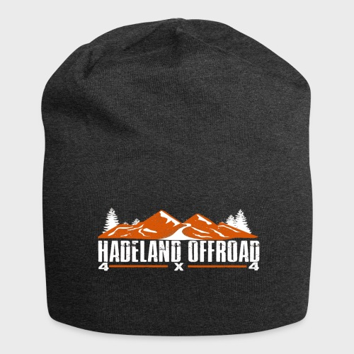Hadeland Offroad Stor Logo Hvit - Jersey-beanie
