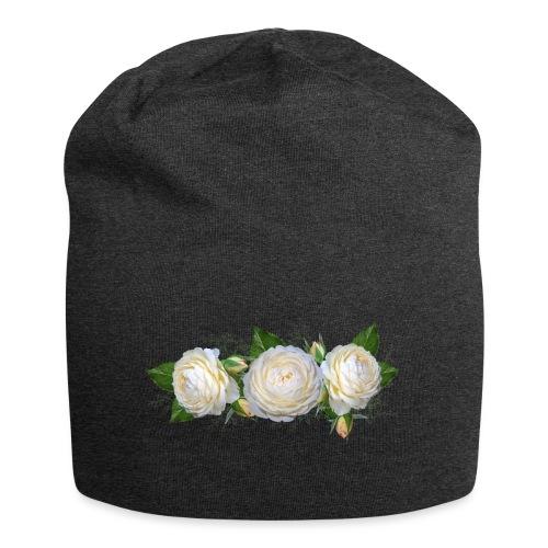 rose Blanche - Bonnet en jersey