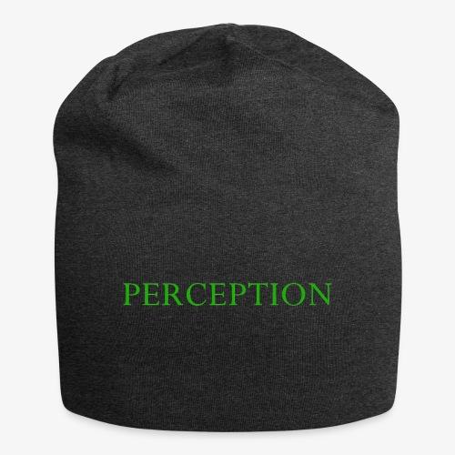 PERCEPTION CLOTHES VERT - Bonnet en jersey