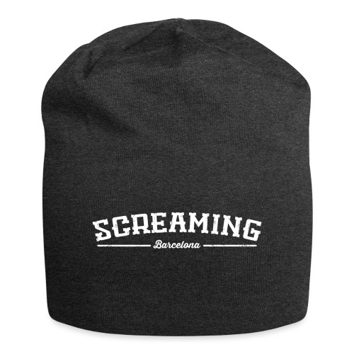 SCREAMING - Gorro holgado de tela de jersey