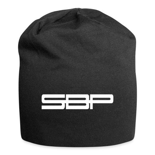 T-shirt black logo white - Jersey Beanie