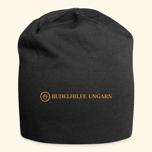 Rudelhilfe Logo - Jersey-Beanie