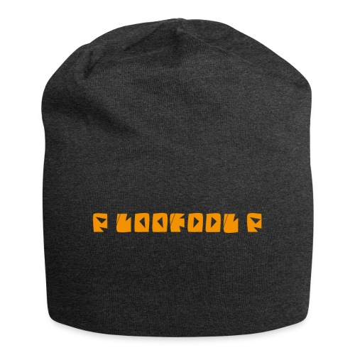 P loofool P - Orange logo - Jersey-beanie