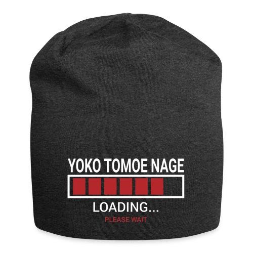 Yoko Tomoe Nage loading... pleas wait - Czapka krasnal z dżerseju