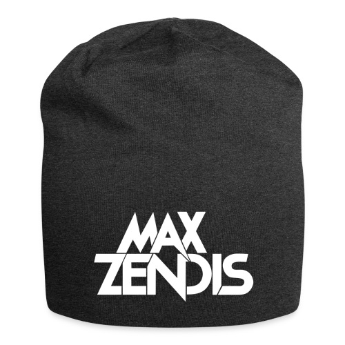 MAX ZENDIS Logo Big - Black/White - Jersey-Beanie