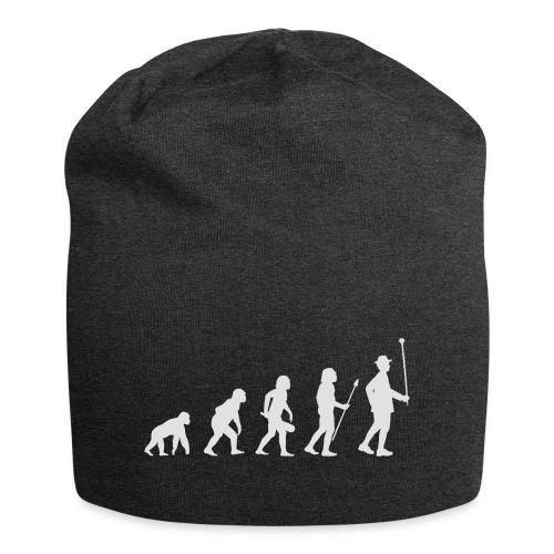 Evolution Stabführer weiß - Jersey-Beanie