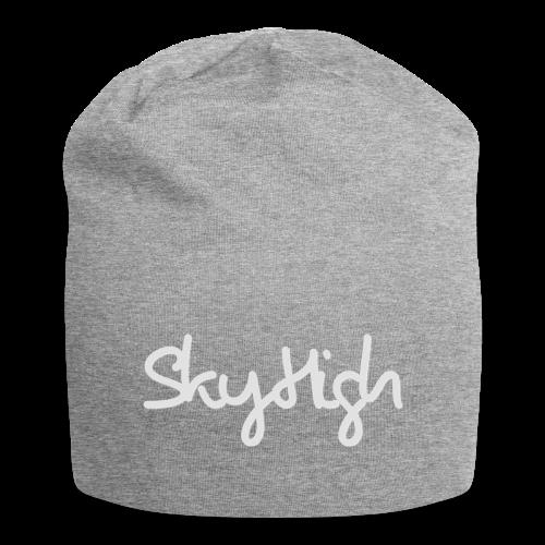 SkyHigh - Bella Women's Sweater - Light Gray - Jersey Beanie