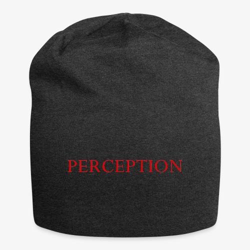 PERCEPTION CLOTHES ROUGE - Bonnet en jersey