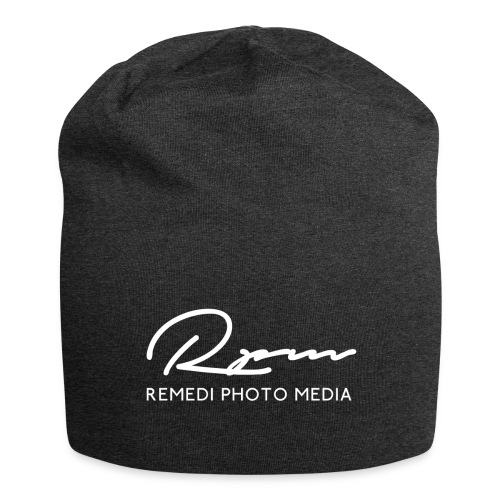 RPM 2018 script with text - White - Jersey Beanie