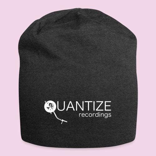 Quantize White Logo - Jersey Beanie