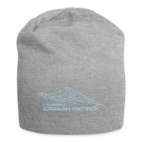 I climbed Croagh Patrick Geometric Design - Jersey Beanie