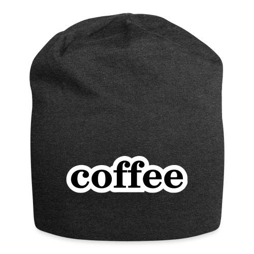 Kaffee - Jersey-Beanie