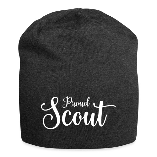 Proud Scout Lettering White - Jersey-Beanie
