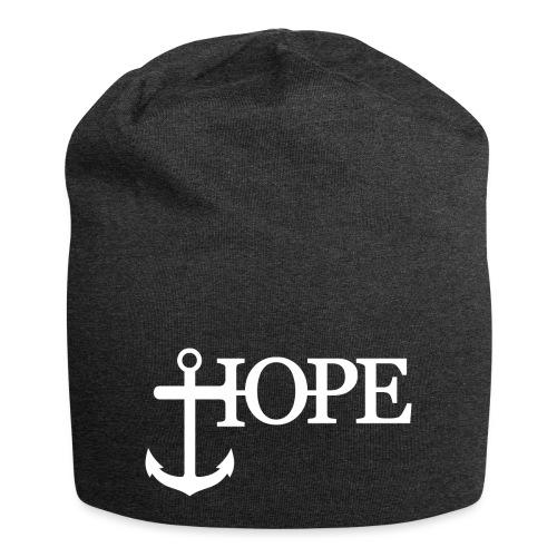 Hope Anker Anchor Hoffnung - Jersey-Beanie
