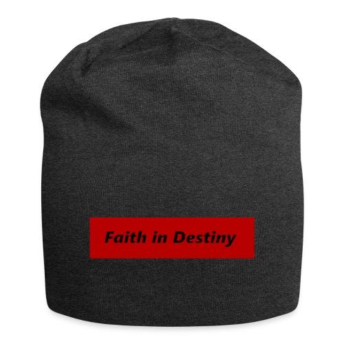 La fe en el destino primera colección - Gorro holgado de tela de jersey