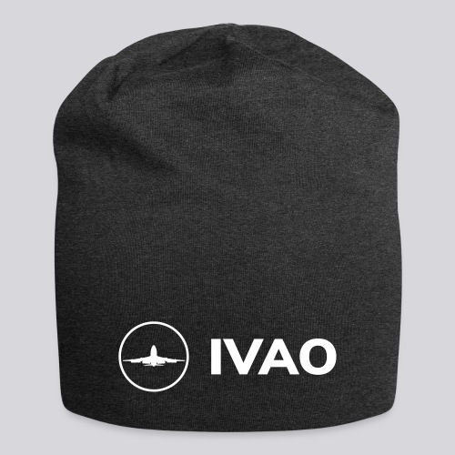 IVAO (Logo Complet Blanc) - Bonnet en jersey