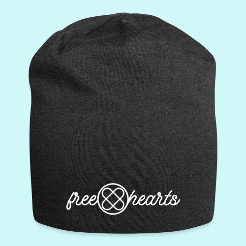 freehearts white logo - Jersey-Beanie
