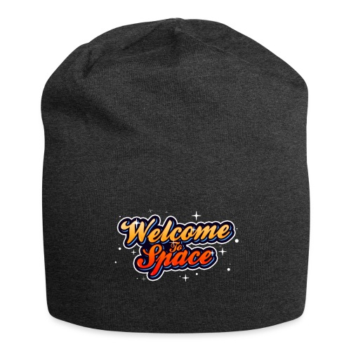 Colorful Welcome To Space Logo - Jersey-beanie