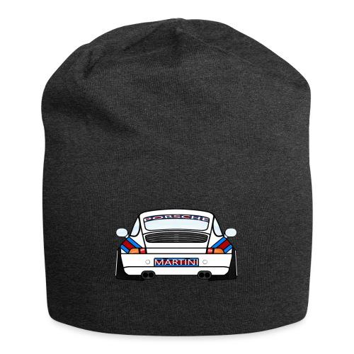 White Sports Car Maritini Livery - Jersey Beanie